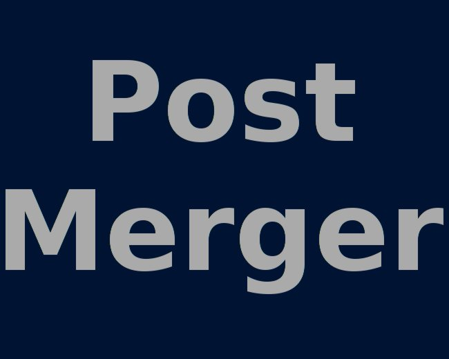 Post Merger IT Analysis